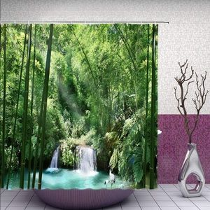 Other - Waterfall Forest Shower Curtain